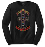 Guns N' Roses - Appetite For Destruction (T-SHIRT Manica Lunga Unisex TG. 2)