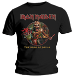 Iron Maiden - Book Of Souls Eddie Circle (T-SHIRT Unisex )