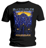 Iron Maiden - Dark Ink Powerslaves (T-SHIRT Unisex TG. 2)