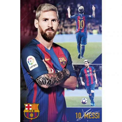 Poster Barcellona Messi Collage 63