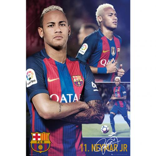 Poster Barcellona Neymar Collage 66