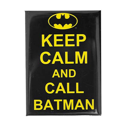 Calamita Batman Keep Calm and Call BATMAN