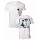 Star Trek - Spock Your Logic Is Questionable White (T-SHIRT Unisex )