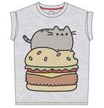 Pusheen - Pusheen Burger (T-SHIRT Donna )