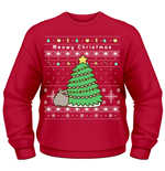 Pusheen - Christmas Tree (felpa Unisex )