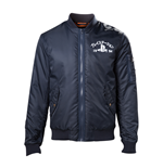 Playstation - Blue Bomber Jacket With Playstation Logo (giacca Unisex )