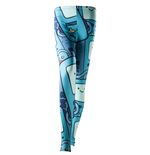Adventure Time - Beemo All Over Print (leggings )