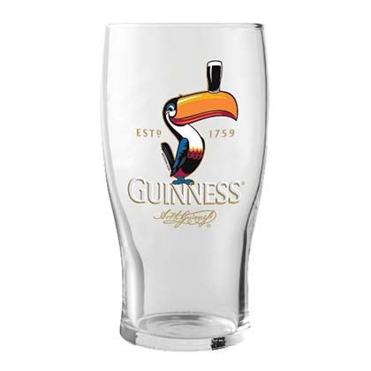 Bicchiere Guinness Toucan