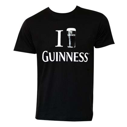 T-shirt Guinness Love