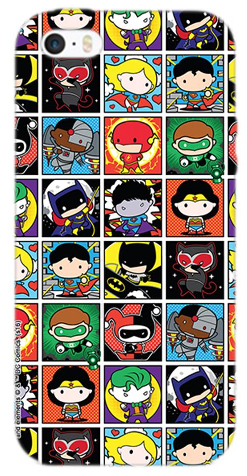 Cover Iphone 6-6S Dc SUPERHERO'S Box Opaca