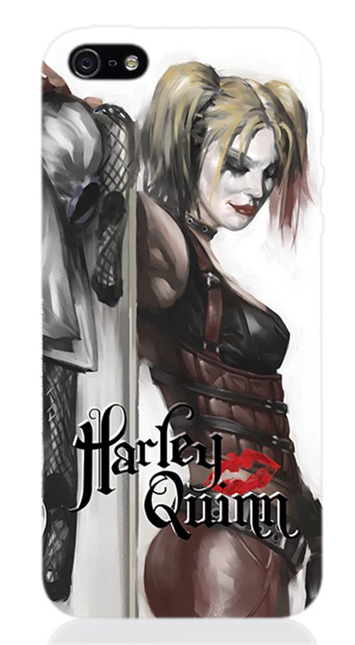 Cover Iphone 5 Harley Quinn Figure Opaca