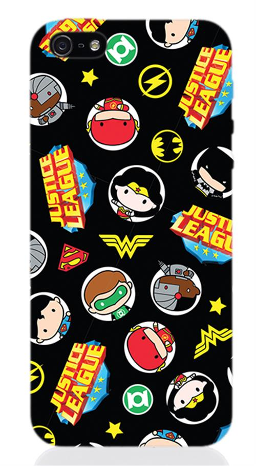 Cover Iphone 5 Dc SUPERHERO'S Medals Opaca