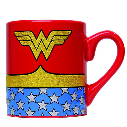 Tazza Wonder Woman Glitter