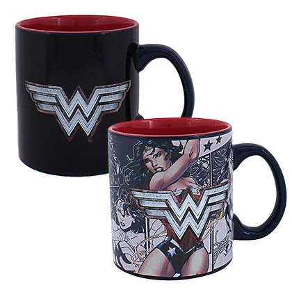 Tazza Termosensibile Wonder Woman
