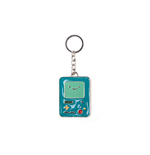 Adventure Time - Beemo Metal Keychain Metal Keychains U Green