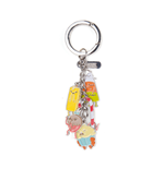 Adventure Time - Candy People With Charms Multicolor (Portachiavi In Metallo)
