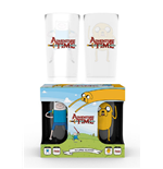 Adventure Time - Fin And Jake Large (Set 2 Bicchieri)