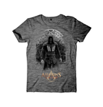 ASSASSIN'S Creed - Castle Rock Black Grindle Cover Grey (T-SHIRT Unisex )