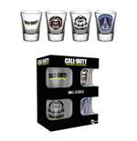Call Of Duty Infinite Warfare - Shot Glasses Set (Set 4 Bicchieri Piccoli)
