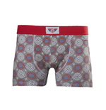 Captain America - Printed Boxershort With Woven Label On Waistband (boxer )