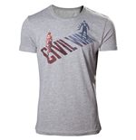 Captain America - Civil War Grey (T-SHIRT Unisex )