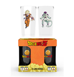 Set 2 Bicchieri Dragon Ball Z - Goku Vs Frieza Large