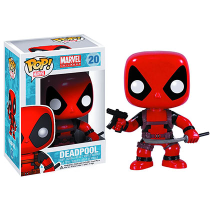 Pupazzo Funko Pop Marvel DEADPOOL