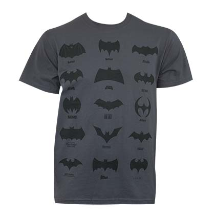T-shirt Batman Assorted Logos