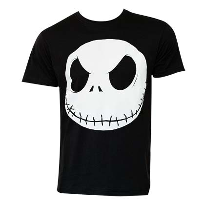 T-shirt Nightmare before Christmas Glow In The Dark