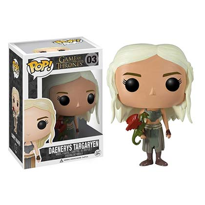 Pupazzo Il trono di Spade (Game of Thrones) Daenerys Targaryen Funko Pop