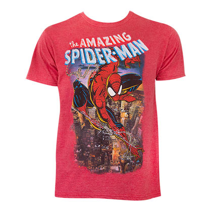 T-shirt Spider-Man Comic Cover