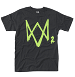 Watch Dogs 2 - Neon Logo (T-SHIRT Unisex )