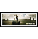 Walking Dead (The) - Prison (Foto In Cornice 76x30 Cm)