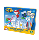 Super Wings - Set Di Timbri Educativi