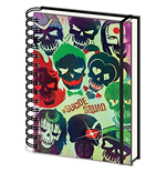 Suicide Squad (Skulls) A5 Wiro Notebook (Quaderno)