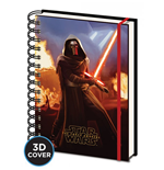 Star Wars Episode Vii (Kylo Ren) 3D Lenticular Cover A5 Notebook (Quaderno)