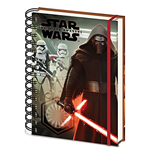 Star Wars Episode Vii (Kylo Ren & Troopers) A5 Notebook (Quaderno)