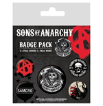 Sons Of Anarchy (Pin Badge Pack)