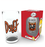 Simpsons (The) - Duff Beer (Bicchiere)