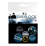 Sherlock - Mix (Badge Pack)