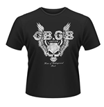 Cbgb - Skull Wings (T-SHIRT Unisex )