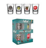 Fallout 4 - Icon Shot Glasses Set (Set 4 Bicchieri Piccoli)