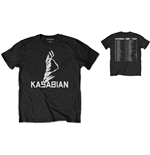 Kasabian - Ultra Face 2004 Tour Special Edition Black (T-SHIRT Unisex )