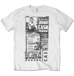 Johnny Cash - The Fabulous Johnny Cash Show Special Edition White (T-SHIRT Unisex TG. 2)