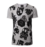 Nintendo - Nappy Allover Print White (T-SHIRT Unisex )