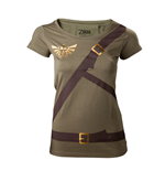 Nintendo - Zelda Link Belt Green (T-SHIRT Donna )