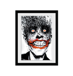 Batman Comic - Joker (Foto In Cornice 30x40cm)