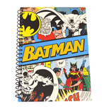 Batman - Retro (Budget) A5 Notebook (Quaderno)