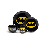 Dinner Set 4 Pezzi Batman - Logo