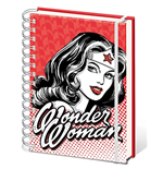 Dc Comics A5 Notebook (Wonder Woman - Red) (Quaderno)